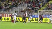 Brkic vola e respinge con il pugno il corner del Parma