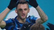 Brozovic cala il poker: Frosinone battuto 4-0 a San Siro
