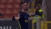 Brozovic di precisione porta in vantaggio l'Inter contro il Genoa