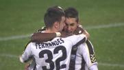 Bruno Fernandes non sbaglia: è il goal del 2-0 per l'Udinese sul Chievo