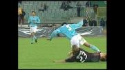 Brutto fallo ed espulsione per Ambrosini contro la Lazio