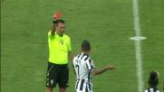 Brutto tackle da dietro: Pepe conclude il campionato con un'espulsione