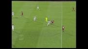 Brutto tackle di Dossena ai danni di Comotto che gli costa il secondo giallo