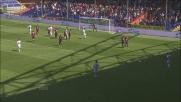 Il goal di Brienza porta in vantaggio il Siena contro il Genoa