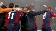 Antonini sblocca il derby della lanterna con un goal di destro al volo