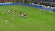 A San Siro goal di Vargas che beffa Gabriel su punizione