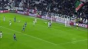 Buffon respinge il tiro di Thereau e salva la Juventus