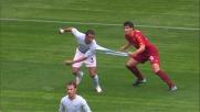 Burdisso strappa la maglia a Dias nel derby di Roma