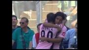 Brienza riporta in vantaggio il Palermo contro la Lazio