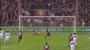 Gilardino sbaglia il rigore contro il Parma: Mirante lo intercetta
