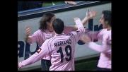 Il Palermo raddoppia sulla Lazio con il goal di Tedesco