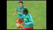 Il goal di Suazo dal dischetto non basta al Cagliari contro il Milan