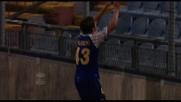Paloschi rapace del goal: buca in contropiede l'Udinese con tocco morbido