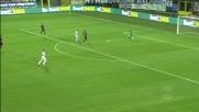 Il giovane Cristiano Lombardi sigla il 3-0 della Lazio a Bergamo