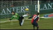 Contropiede del Genoa contro il Torino concluso con il goal di testa di Jankovic