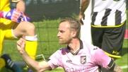 Il goal di Rigoni vale il raddoppio del Palermo sull'Udinese