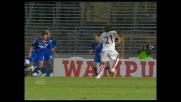 Il goal di Capone porta in vantaggio il Cagliari al Castellani