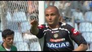 L'Udinese passa in vantaggio sul Siena grazie a Pepe