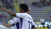 Cagliari-Fiorentina 0 a 4: poker dal sapore colombiano con Cuadrado