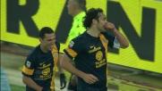 Toni ipnotizza Padelli e segna il goal del vantaggio contro il Torino
