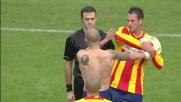 Calcione gratuito di Chevanton a Marilungo: rosso diretto per il Lecce