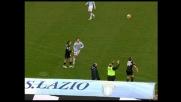 Calcione involontario di Cassano a Delio Rossi, poi la si prende sul ridere