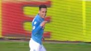 Callejon porta avanti il Napoli a Cagliari