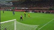 Cambiasso l'appoggia in goal a due passi da Rafael