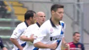 Cambiasso regala il goal del definitivo pareggio dell'Inter contro il Cagliari
