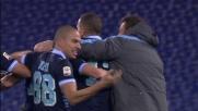 Campagnaro realizza in acrobazia il goal del pareggio con la Lazio