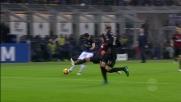 Candreva esplode il destro nel derby di Milano, palla fuori