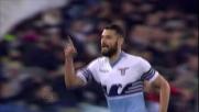 Candreva, goal di potenza su punizione contro il Verona