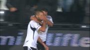 Candreva non sbaglia, goal dell'1-1 tra Cesena e Cagliari