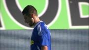 Candreva non supera Handanovic in Udinese-Cesena