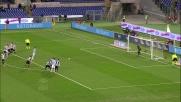 Candreva realizza dal dischetto il goal del vantaggio contro la Juventus