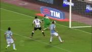 Candreva sbatte sul palo: il suo tiro contro l'Udinese a pochi centimetri dal goal