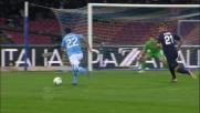 Canini stende Lavezzi! Calcio di rigore per il Napoli