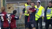 Canini trascina il Cagliari con un goal importantissimo