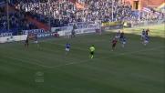 Caparbiamente Taarabt realizza la rete alla Sampdoria con un tap-in vincente