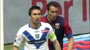 Caracciolo colpisce di testa una traversa clamorosa contro il Genoa