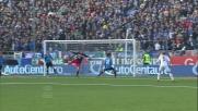 Caracciolo salva la porta del Novara respingendo sulla linea il tiro di Mexes