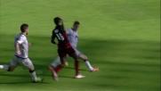 Cartellino rosso a Carmona per un tackle sulle caviglie di Mbaye