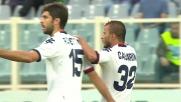 Casarini, goal del pareggio con deviazione contro la Fiorentina