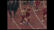 Cassano di testa: la Roma acciuffa la Lazio nel derby