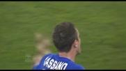 Cassano in goal contro il 'suo' Bari