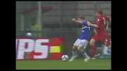 Cassano riaggancia il Cagliari con il goal del 3-3 a Marassi