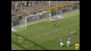 Cassano riesce a far goal su rigore anche cadendo