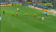 Cassano salta due avversari e lancia il contropiede del Milan