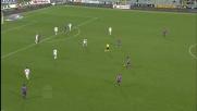 Castillo realizza il goal vittoria per la Fiorentina contro il Bari