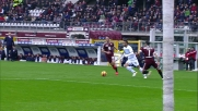 Cataldi arpiona il pallone ma fallisce il goal al Torino